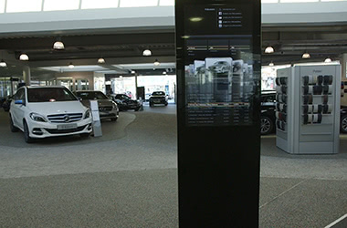 Digital Signage - interaktive Touchstele